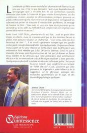 Autosuggestion Consciente Selon Emile Coue - 4ème de couverture - Format classique