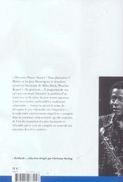 Les Singularites Flottantes De Wayne Shorter - 4ème de couverture - Format classique