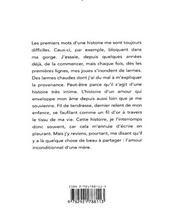 Faits d'amour - 4ème de couverture - Format classique