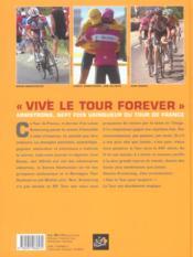 Tour de France 2005. livre officiel - 4ème de couverture - Format classique