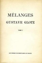 Gustave Glotz. - Couverture - Format classique
