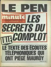 Minute N°1228 du 19/10/1985 - Couverture - Format classique