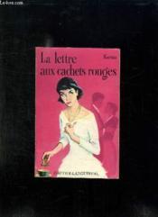 La Lettre Aux Cachets Rouges. - Couverture - Format classique
