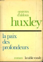 La Paix Des Profondeurs - Couverture - Format classique