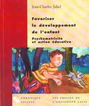 Favoriser Le Developpement De L'Enfant - Intérieur - Format classique
