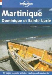 Martinique Dominique Et Sainte Lucie ; 3e Edition - Intérieur - Format classique