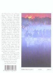 Les chroniques d'Alvin le faiseur t.6 ; la cité de cristal - 4ème de couverture - Format classique