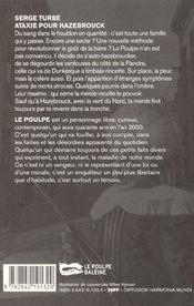 Ataxie Pour Hazebrouck - 4ème de couverture - Format classique