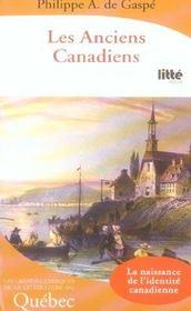 Les anciens canadiens - Intérieur - Format classique
