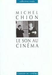 Son Au Cinema (Le) - Intérieur - Format classique