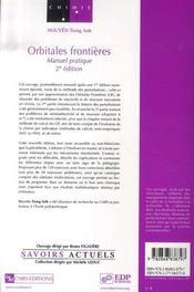Orbitales frontières ; manuel pratique (2e édition) - 4ème de couverture - Format classique