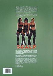 Scalp. 1. Little Boy - 4ème de couverture - Format classique