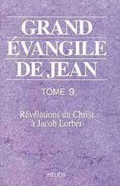 Grand Evangile De Jean - T. 9 - Couverture - Format classique