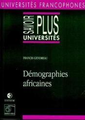 Demographies Africaines - Couverture - Format classique
