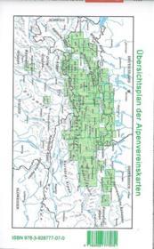 Stubaier Alpen Hochstubai - 4ème de couverture - Format classique