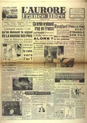 Aurore France Libre (L') N°1259 du 30/09/1948 - Couverture - Format classique