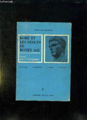 Histoire . Rome Et Les Debuts Du Moyen Age. Classe De Cinquieme. Livret De L Enseignant. - Couverture - Format classique