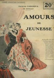 Amours De Jeunesse - Couverture - Format classique