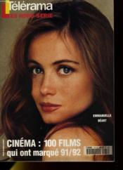 TELERAMA HORS-SERIE - Cinéma: 100 films qui ont marqué 91 / 92 - Couverture - Format classique