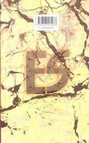 Es (eternal sabbath) t.3 - 4ème de couverture - Format classique