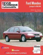 Rta 723.3 Ford Mondeo E&D&Td (93-97) - Couverture - Format classique