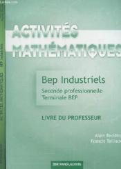 Activites ; Industriels - Couverture - Format classique