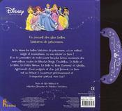 Mes 6 princesses préférées - 4ème de couverture - Format classique