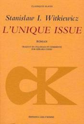 Unique Issue (L') - Couverture - Format classique