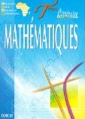 Mathematiques Term Litteraire - Couverture - Format classique