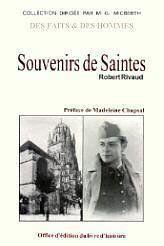 Saintes, Souvenirs De - Couverture - Format classique