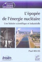 L'épopée de l'énergie nucléaire ; une histoire scientifique et industrielle - Intérieur - Format classique