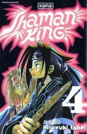 Shaman King T4 - Couverture - Format classique