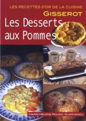 Les desserts aux pommes - Couverture - Format classique