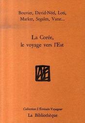 La corée, le voyage vers l'est - Intérieur - Format classique