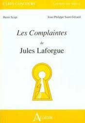 Complaintes De Laforgue - Intérieur - Format classique