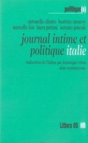 Journal intime et politique ; italie - Couverture - Format classique