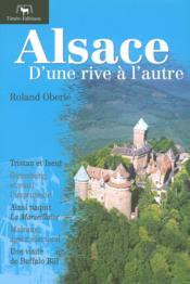 Alsace d'une rive a l'autre - Couverture - Format classique