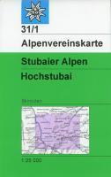Stubaier Alpen Hochstubai - Couverture - Format classique