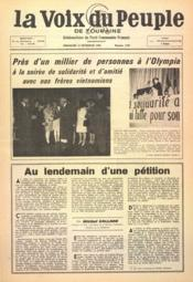 Voix Du Peuple De Touraine (La) N°1320 du 13/11/1966 - Couverture - Format classique