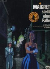 Maigret Stellt Eine Falle - Couverture - Format classique