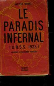 Le Paradis Infernal - U.R.S.S. 1933 - Couverture - Format classique