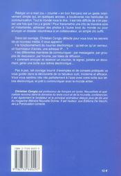 Correspondance Par Mail (La) - 4ème de couverture - Format classique