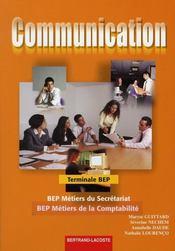 Communication 2eme annee bep (terminale bep) secretariat - Intérieur - Format classique