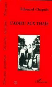 L'Adieu Aux Thais - Intérieur - Format classique