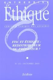 Fisc: Redistributeur Ou Predateur - Couverture - Format classique