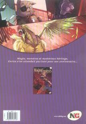 Magna veritas t.1 ; solstice d'hiver - 4ème de couverture - Format classique