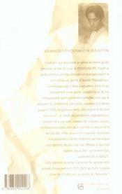 Vie Liberee - 4ème de couverture - Format classique