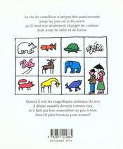 Caméléon méli-mélo - 4ème de couverture - Format classique