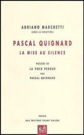 Pascal Quignard - Couverture - Format classique