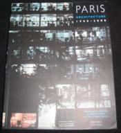 Paris architecture 1900-2000 - Couverture - Format classique